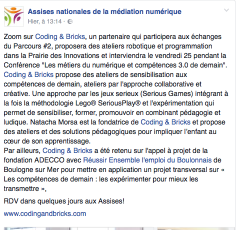 assises-nationales-de-la-mediation-numerique-coding-and-bricks