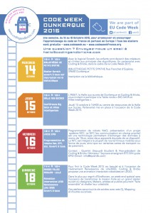 codingandbricks code week 2015 flyer A4 verso