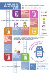 codingandbricks code week 2015 flyer A4 recto