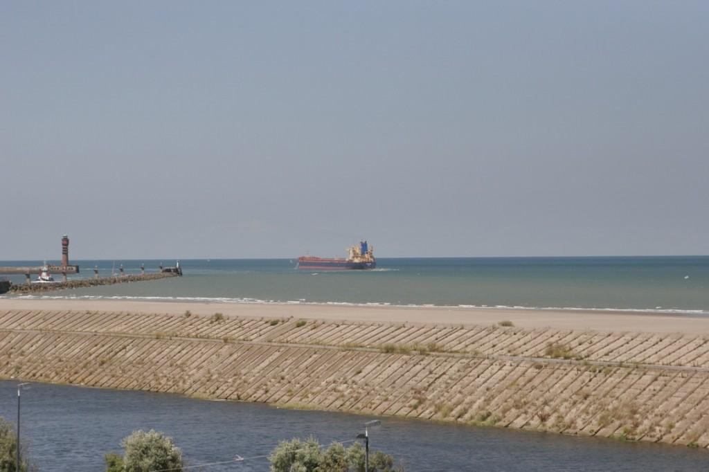 La vue depuis le Labo du FRAC.